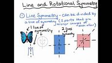 Line Of Symmetry Powerpoint Line And Rotational Symmetry Youtube
