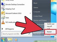 How to Boot from USB in Windows 7 (with Pictures)   wikiHow