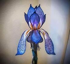Silk Flower Lights Silk Painted Lamp Shade Painting Lamp Shades Painting