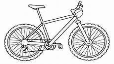 bicycle coloring pages preschool bike coloring pages