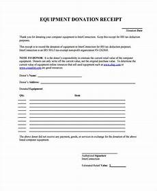 equipment receipt form template free 44 receipt forms pdf