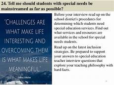 Interview Questions For Special Education Teachers 101 Special Education Interview Questions And Answers