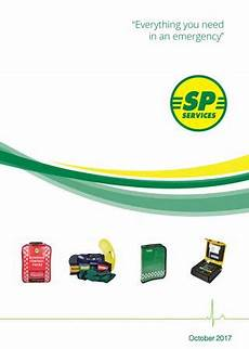sp services first aid and medical catalogue october 2017