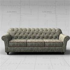 6ft Sofa 3d Image by 7ft Tufted Sofa 3d Model Formfonts 3d Models Textures