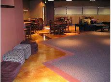 Restaurant Floor Pictures  Photos and Ideas for Decorating Concrete in Restaurant Floors