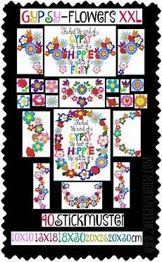 Blumen Malvorlagen Xl Flowers Stickmuster Boho Blumen 10x10 13x18