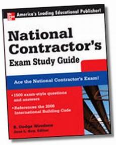 National Contractor S Exam Study Guide 1 500