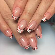 Pang Nail Design 45 Awesome French Manicure Designs To Try And Remain In Style
