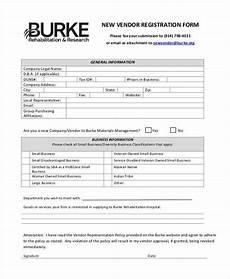 Vendor Registration Form Template Free 39 Registration Form Templates In Pdf Ms Word Excel