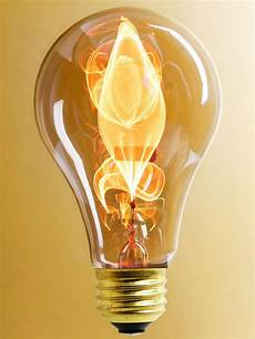Light Bulb In French Beautiful Quot Electric Flame Quot Carbon Filament Light Bulb 15