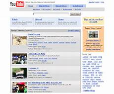 You Tube Web Page 15 Years Of Youtube Website Design History 39 Images