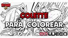 les dessins de colette de brawl pour colorier