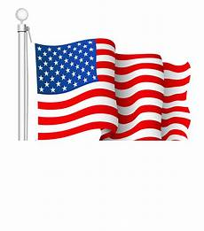 american flag clipart transparent american flag clipart clipground