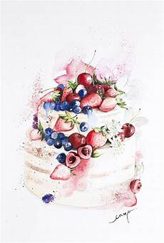 17 best images about cakes and desserts illustrations on