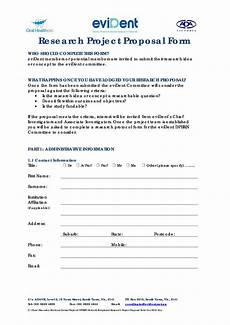 Free Sample Proposal Template Choose From 40 Research Proposal Templates Amp Examples 100