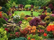 Flower Wallpaper Garden by Flower Gardens Wallpaper Wallpapersafari