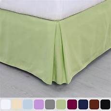 pleated bed skirt classic tailored hotel quality 14 inch