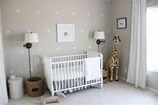 Newborn Baby Room Lighting Gender Neutral Gray Zoo Themed Nursery Project Nursery