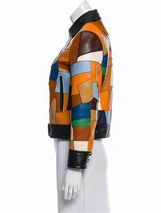 coach 2016 leather patchwork jacket w tags clothing