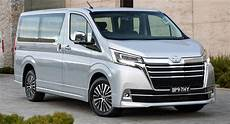 Toyota Mpv 2020 by 2020 Toyota Granvia Mpv Gets Aud 62 990 Starting Price