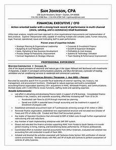 Chief Financial Officer Resume Chief Financial Officer Resume Sample Fresh Cfo Resume