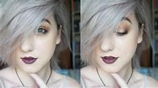 hair white how to silver white hair tutorial brenna neal