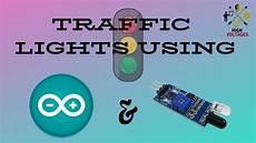 Sensor Based Traffic Light System Traffic Light Using Ir Sensor Youtube