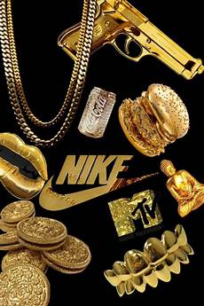 Supreme Wallpaper Gold by Nikexgoldxmtv Blackdiamond Fond Ecran Swag Fond Ecran