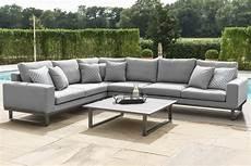 maze ethos outdoor fabric large corner garden sofa set
