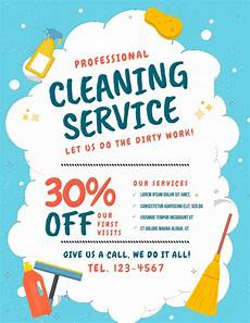 Free Cleaning Flyer Templates Customize 680 Cleaning Service Templates Postermywall