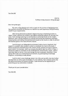 How To Write A Cover Letter In Spanish Cover Letter Work In Japan Advice Board