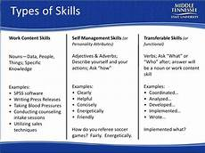 What Kind Of Skills To Put On Resume Resume Workshop Mtsu Career Countdown