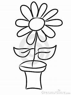 Drawings Of A Flower Hand Draw Flowers Stock Photos Image 7935133