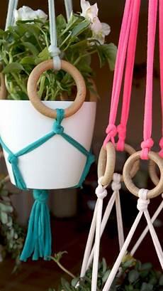 diy macrame plant hanger drlivinghome ideias para