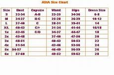 Bliss Size Chart Eternal Bliss The Size Chart