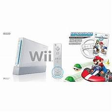 cost of wii console nintendo wii console with mario kart white used