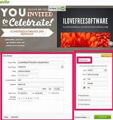 Free Evite Templates Free Windows 8 Evite App To Create And Send Invitations