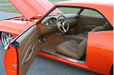 scott whidby s 1969 camaro custom leather interior