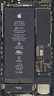 Iphone 7 Plus Inside Wallpaper by прозрачные обои с компонентами Iphone 7 7 Plus от Ifixit