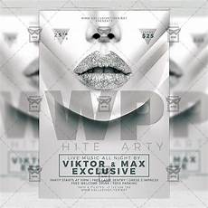 Free All White Party Flyer Template White Party Club A5 Flyer Template Exclsiveflyer