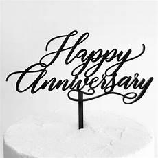 Happy Anniversary Design Happy Anniversary Cake Topper Dillon Design