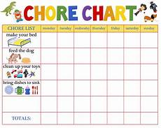 Toddler Chore Chart Nigerian Mums Raising A Responsible Child