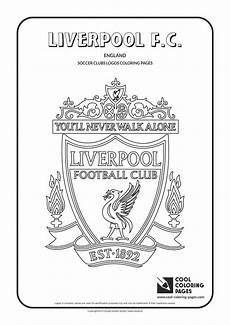 Ausmalbilder Fussball Logos Cool Coloring Pages Liverpool F C Logo Coloring Page