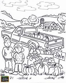 Farm Coloring Page Free Teaching Tool Printable Agricultural Coloring Page