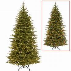 7 5 Slim Christmas Tree With Led Lights National Tree Company 7 5 Ft Nordic Spruce Slim