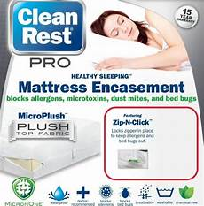 bed bug proof mattress box cover protector set