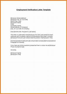 End Employment Letter 9 Verification Of Employment Letter Examples Pdf Examples