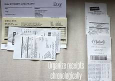 Make Receipts For Your Business Organize Small Business Taxes Plus Free Printables