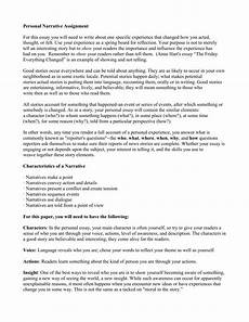 Narrative Essay About Yourself Personal Narrative Essay