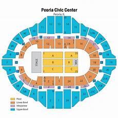 Peoria Civic Center Seating Chart 02 Arena Seating Chart